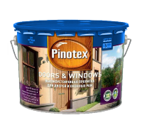 PINOTEX DOORS & WINDOWS декоративное покрытие для дерева 10л